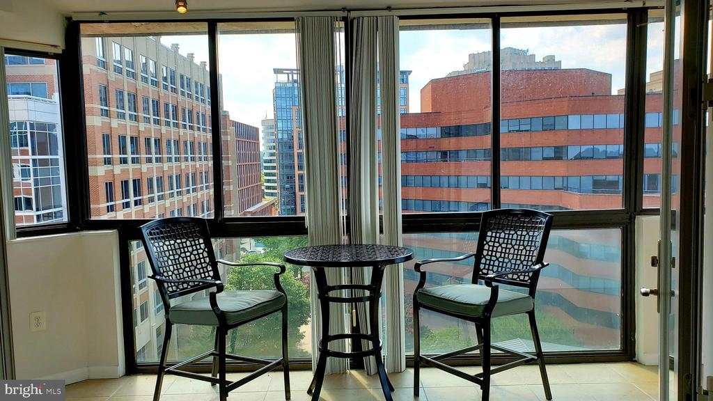 Wrap-Around Sun Room lets in lots of light - 1001 N VERMONT ST #902, ARLINGTON
