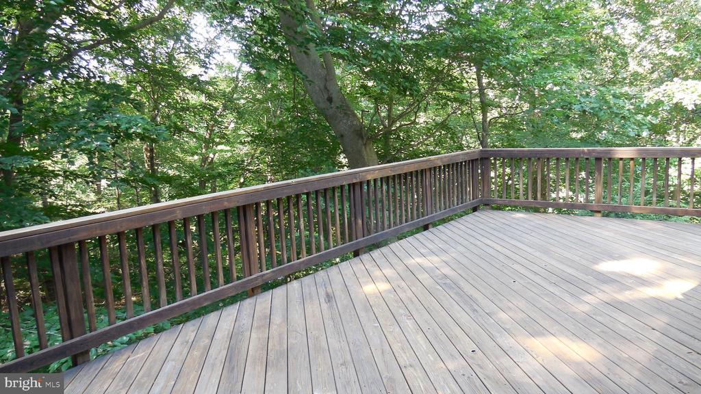 Deck 2 with water views - 8575 COBB RD, MANASSAS
