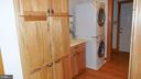 Laundry with sink. - 8575 COBB RD, MANASSAS