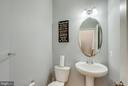 Half Bath on Main Level - 4306 POTOMAC HIGHLANDS CIR #41, TRIANGLE