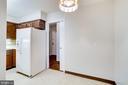 kitchen - Pocket Door to Entry Foyer - 3800 FAIRFAX DR #314, ARLINGTON