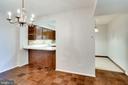 Adjacent to Kitchen.  D.R./Fam.Rm./Ofc./Den. - 3800 FAIRFAX DR #314, ARLINGTON