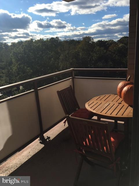 Balcony - 5225 POOKS HILL RD #707N, BETHESDA