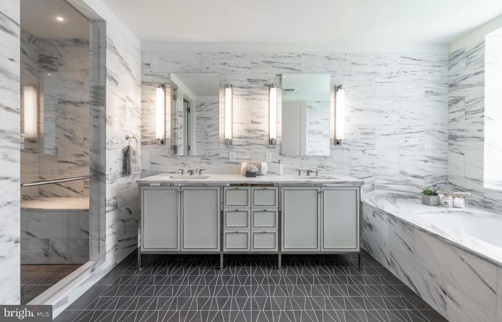 Master Bathroom - 2660 CONNECTICUT AVE NW #4C, WASHINGTON