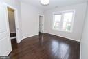 Master Bedroom with Hardwood floors - 3420 11TH ST S, ARLINGTON