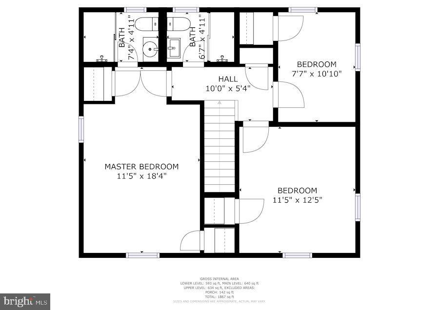 Floor Plan - 1745 BUCHANAN ST NE, WASHINGTON