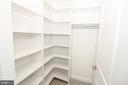 Bedroom #4 Custom Closet Shelving - 3420 11TH ST S, ARLINGTON