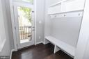 Mudroom With Private Access to Patio/Courtyard - 3420 11TH ST S, ARLINGTON