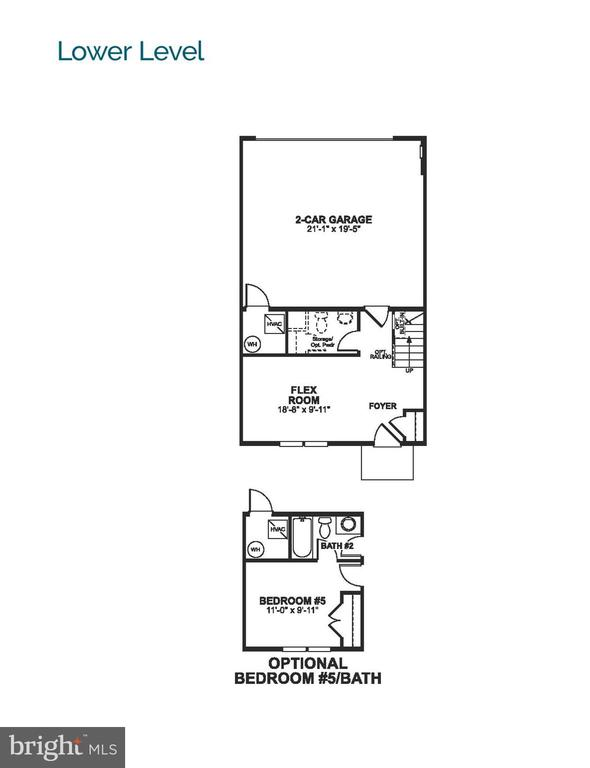 Floor Plan - KLEE ALLEY- BROOKLAND, SILVER SPRING