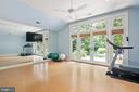 Exercise Room/Bedroom - 11304 HUNTOVER DR, NORTH BETHESDA