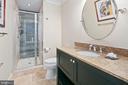 Lower Level Full Bath - 11304 HUNTOVER DR, NORTH BETHESDA