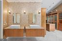 Master Bath - 11304 HUNTOVER DR, NORTH BETHESDA