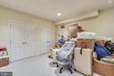 Lower level storage room - 5800 MIDHILL ST, BETHESDA