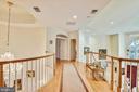Upper level hallway - 5800 MIDHILL ST, BETHESDA