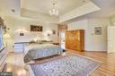 Master bedroom - 5800 MIDHILL ST, BETHESDA