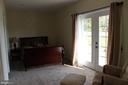3rd Downstairs Master Bedroom - 6321 STUBBS COVE LN, SPOTSYLVANIA