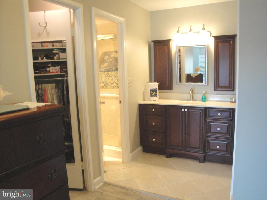 Master Bedroom / Walk in Shower Bath - 8380 GREENSBORO DR #721, MCLEAN