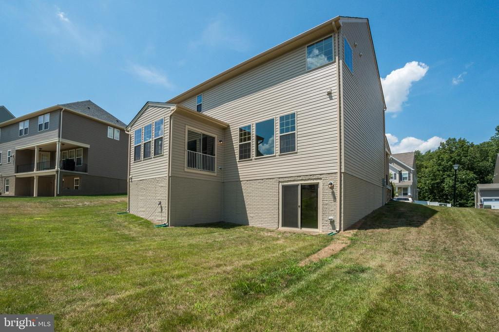 Walk-Out Grade Foundation Option $6,200 - 23 IRON MASTER DR, STAFFORD