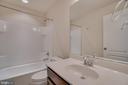 Upper Level Full Hall Bathroom - 23 IRON MASTER DR, STAFFORD