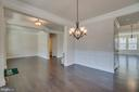 Double Crown Molding, Chair Rail, & Shadow Boxes - 23 IRON MASTER DR, STAFFORD