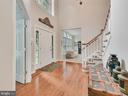 Two Story Foyer - 9710 WOODFIELD CT, NEW MARKET