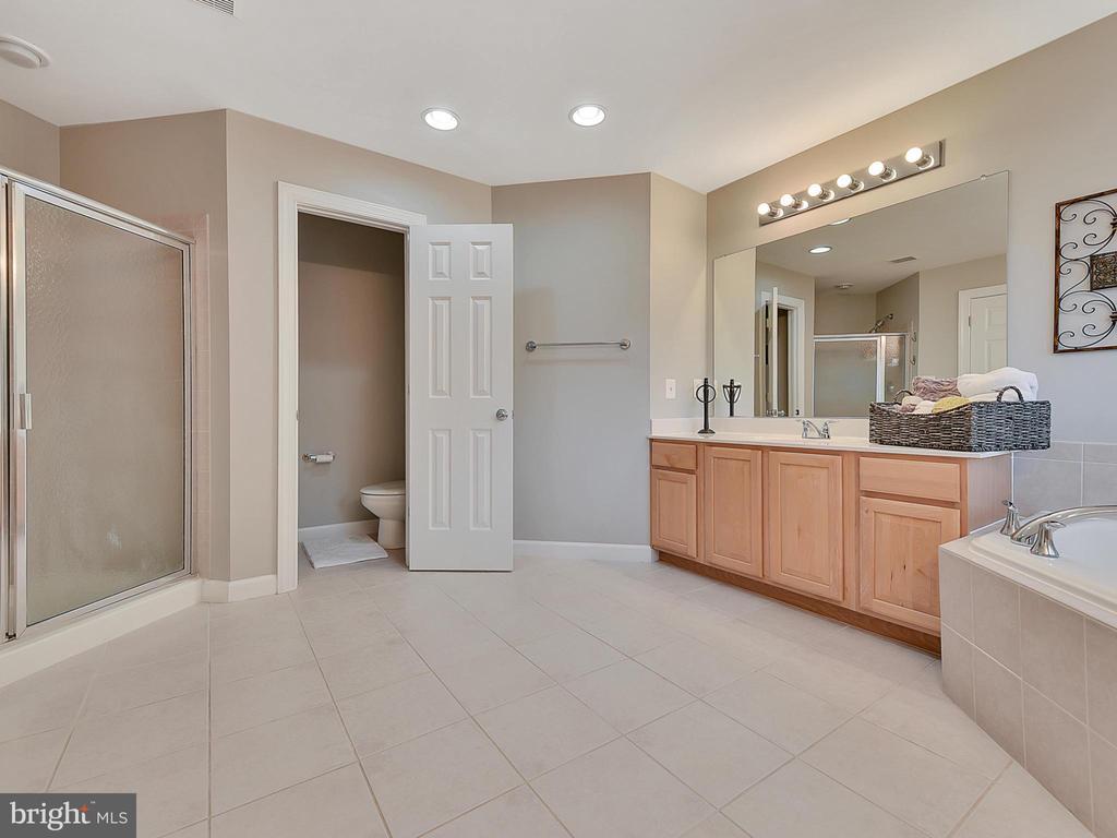 Master Bath - 9710 WOODFIELD CT, NEW MARKET