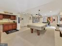 Basement Game Room with Wet bar & wine rack - 9710 WOODFIELD CT, NEW MARKET