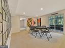 Game Room with walk-out - 9710 WOODFIELD CT, NEW MARKET