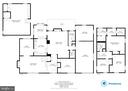 Full floor plans on four level split. - 9114 MURDOCK RD, FAIRFAX