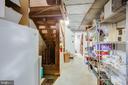 Basement Storage - 1201 KEY DR, ALEXANDRIA