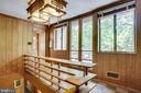 Main House Upstairs with Doors to Balcony - 1201 KEY DR, ALEXANDRIA
