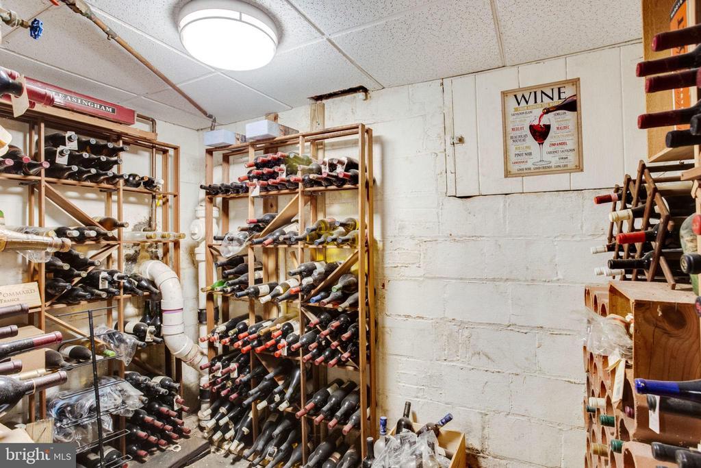 Basement Wine Cellar - 1201 KEY DR, ALEXANDRIA