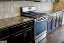 Gas stove and granite counter tops. - 42767 KEILLER TER, ASHBURN