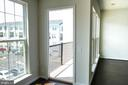 interior view of balcony - 42767 KEILLER TER, ASHBURN