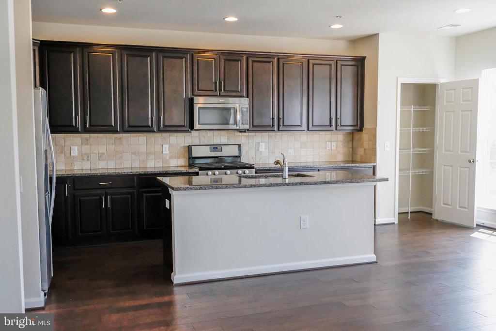 Kitchen view - 42767 KEILLER TER, ASHBURN