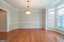 Upgraded chandelier - 26112 TALAMORE DR, CHANTILLY