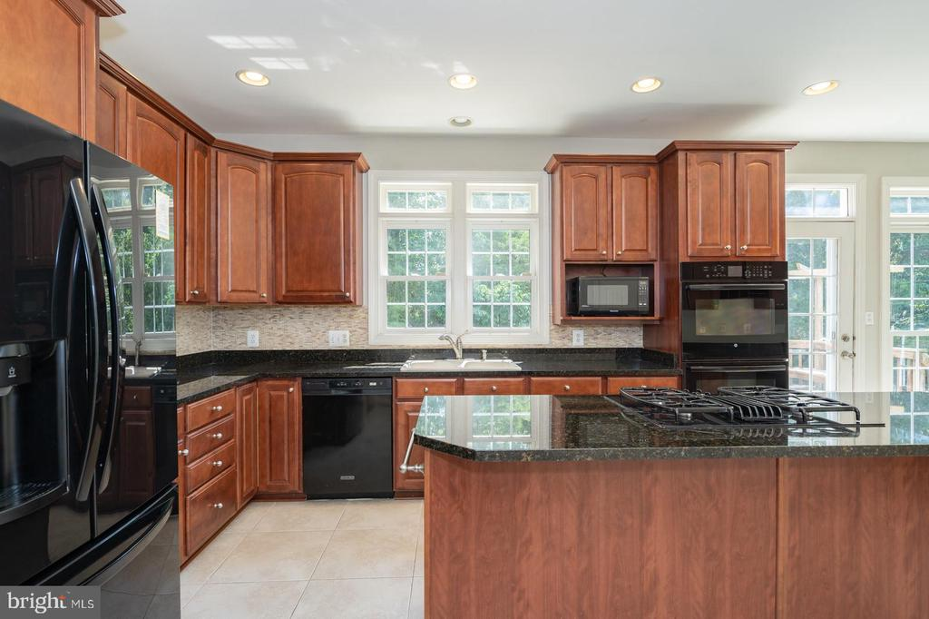 Newer black appliances (less than 3 yrs old) - 26112 TALAMORE DR, CHANTILLY