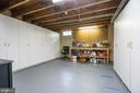 Lower level workshop with storage closets - 26112 TALAMORE DR, CHANTILLY