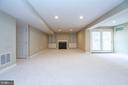 Huge rec room - 26112 TALAMORE DR, CHANTILLY