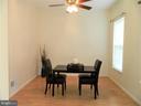 Separate Dining Room or Office - 25485 FLYNN LN, CHANTILLY