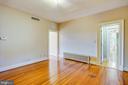 Gleaming wood floors - 610 LEWIS ST, FREDERICKSBURG