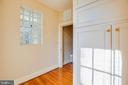 2nd floor bedroom with large closet/dressing area - 610 LEWIS ST, FREDERICKSBURG