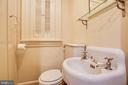 Main level half bath #2 - 610 LEWIS ST, FREDERICKSBURG