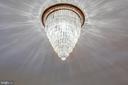 Original DR chandelier - 610 LEWIS ST, FREDERICKSBURG