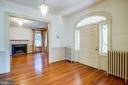 Beautiful front door/ Front Hall - 610 LEWIS ST, FREDERICKSBURG