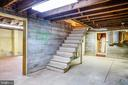 Fabulous dry storage areas in basement - 610 LEWIS ST, FREDERICKSBURG