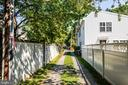 City alley off of Washington Ave to back of lot - 610 LEWIS ST, FREDERICKSBURG
