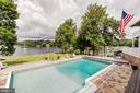 Beautiful waterfront  heated pool - 98 POINT SOMERSET LN, SEVERNA PARK