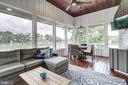 Relaxing waterside screened porch - 98 POINT SOMERSET LN, SEVERNA PARK