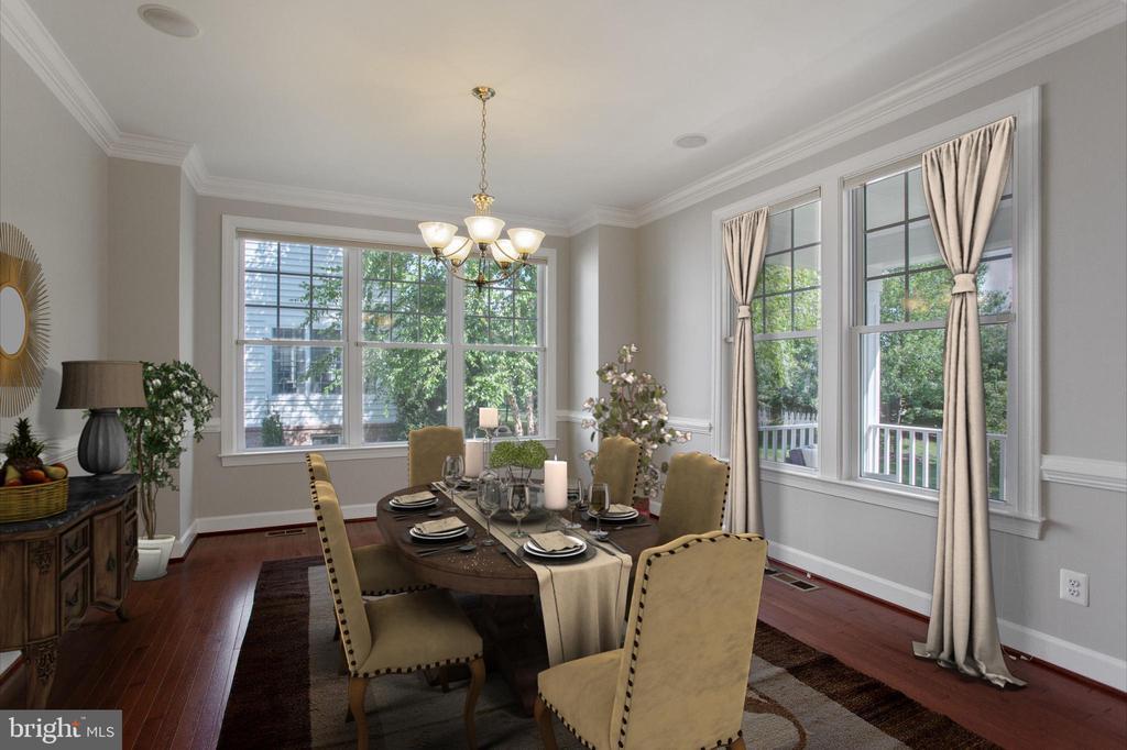 Formal dining room - Furnished - 42461 TOURMALINE LN, BRAMBLETON